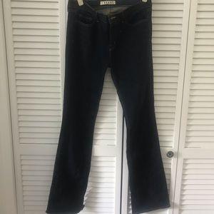 J Brand dark wash bootcut jeans